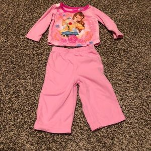 Disney's Princess Belle Pajamas 12 months